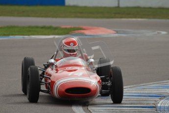 © Octane Photographic Ltd. HSCC Donington Park 17th March 2012. Historic Formula Junior Championship (Rear engine).. Rudolf Ernst - Lotus 22. Digital ref : 0243lw7d6707