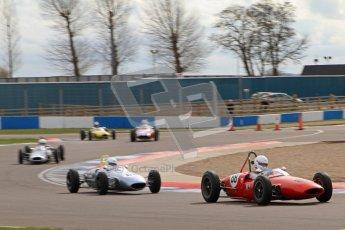 © Octane Photographic Ltd. HSCC Donington Park 17th March 2012. Historic Formula Junior Championship (Rear engine).. Lance Whitehead - Lotus 20. Digital ref : 0243lw7d6825