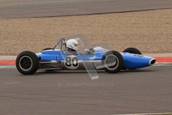 © Octane Photographic Ltd. HSCC Donington Park 17th March 2012. Historic Formula Junior Championship (Rear engine).. Nicholas Fennell - Lotus 27 . Digital ref : 0243lw7d7204