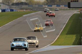 © Octane Photographic Ltd. HSCC Donington Park 18th March 2012. Guards Trophy for GT Cars. Digital ref : 0250lw7d0420