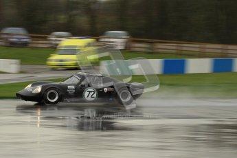 © Octane Photographic Ltd. HSCC Donington Park 18th May 2012. Guards Trophy for Sport Racing Cars. Hugh Colman & Mark Colman - Chevron B8. Digital ref : 0247lw7d9057