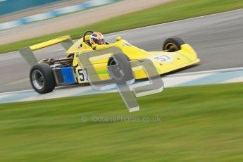 © Octane Photographic Ltd. HSCC Donington Park 17th March 2012. Historic Formula Ford 2000 Championship. David Wild - Reynard SF79. Digital ref : 0251cb1d8768