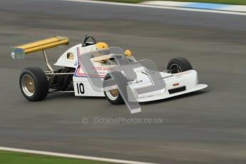 © Octane Photographic Ltd. HSCC Donington Park 17th March 2012. Historic Formula Ford 2000 Championship. Derek Smith - Delta T80. Digital ref : 0251cb7d6586