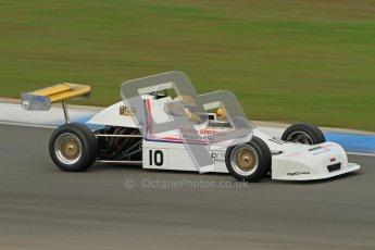 © Octane Photographic Ltd. HSCC Donington Park 17th March 2012. Historic Formula Ford 2000 Championship. Derek Smith - Delta T80. Digital ref : 0251cb7d6618
