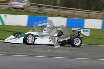 © Octane Photographic Ltd. HSCC Donington Park 17th March 2012. Historic Formula Ford 2000 Championship. David Clark - Dulon MP21. Digital ref : 0251lw7d1329
