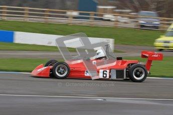 © Octane Photographic Ltd. HSCC Donington Park 17th March 2012. Historic Formula Ford 2000 Championship. Jeremy Main - Reynard SF79. Digital ref : 0251lw7d1351