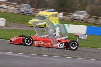 © Octane Photographic Ltd. HSCC Donington Park 17th March 2012. Historic Formula Ford 2000 Championship. Andrew Storer - Royale RP27. Digital ref : 0251lw7d1359