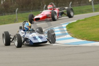 © Octane Photographic Ltd. HSCC Donington Park 17th March 2012. Historic Formula Ford Championship. Digital ref : 0240cb1d6587