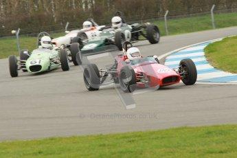 © Octane Photographic Ltd. HSCC Donington Park 17th March 2012. Historic Formula Ford Championship. Julian Pierce - Macon MR8 Digital ref : 0240cb1d660.