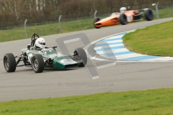 © Octane Photographic Ltd. HSCC Donington Park 17th March 2012. Historic Formula Ford Championship. Andrew MacGregor - Hawke DL2B. Digital ref : 0240cb1d6606