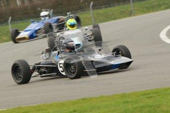 © Octane Photographic Ltd. HSCC Donington Park 17th March 2012. Historic Formula Ford Championship. Roger Arnold - Merlyn Mk20. Digital ref : 0240cb1d6619