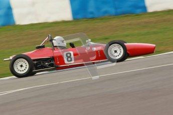 © Octane Photographic Ltd. HSCC Donington Park 17th March 2012. Historic Formula Ford Championship. Andrew Mansell - Merlyn Mk11A. Digital ref : 0240cb1d6637