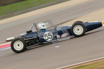 © Octane Photographic Ltd. HSCC Donington Park 17th March 2012. Historic Formula Ford Championship. Roger Arnold - Merlyn Mk20. Digital ref : 0240cb1d6678