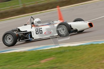 © Octane Photographic Ltd. HSCC Donington Park 17th March 2012. Historic Formula Ford Championship. Alan Fairbrother - Merlyn Mk20. Digital ref : 0240cb1d6736