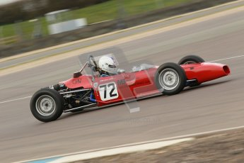 © Octane Photographic Ltd. HSCC Donington Park 17th March 2012. Historic Formula Ford Championship. Alister Littlewood - Merlyn MK20A. Digital ref : 0240cb1d6774