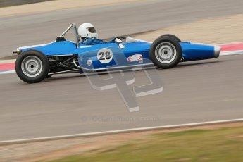 © Octane Photographic Ltd. HSCC Donington Park 17th March 2012. Historic Formula Ford Championship. Michael Wales - Merlyn Mk20 . Digital ref : 0240cb1d6876
