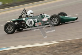 © Octane Photographic Ltd. HSCC Donington Park 17th March 2012. Historic Formula Ford Championship. Andrew MacGregor - Hawke DL2B. Digital ref : 0240cb1d6889