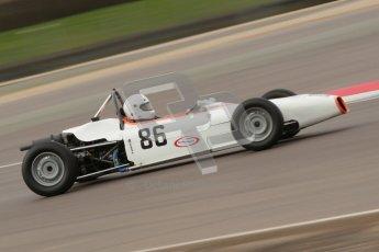 © Octane Photographic Ltd. HSCC Donington Park 17th March 2012. Historic Formula Ford Championship. Alan Fairbrother - Merlyn Mk20. Digital ref : 0240cb1d6901