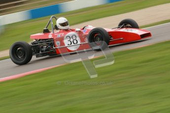 © Octane Photographic Ltd. HSCC Donington Park 17th March 2012. Historic Formula Ford Championship. Pertti Kiiveri - Kvantti MK1. Digital ref : 0240cb1d6953