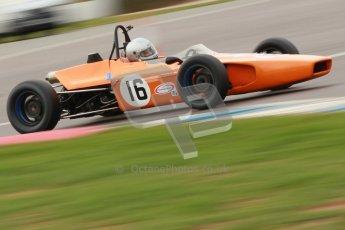 © Octane Photographic Ltd. HSCC Donington Park 17th March 2012. Historic Formula Ford Championship. Simon Toyne - Lola T200. Digital ref : 0240cb1d6966