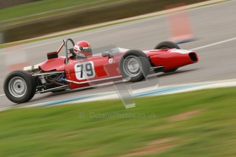 © Octane Photographic Ltd. HSCC Donington Park 17th March 2012. Historic Formula Ford Championship. Diogo Ferrao - Merlyn Mk20. Digital ref : 0240cb1d6976