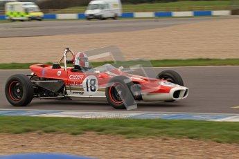 © Octane Photographic Ltd. HSCC Donington Park 17th March 2012. Historic Formula Ford Championship. Stuart Dix - Cooper Chinook. Digital ref : 0240lw7d4602