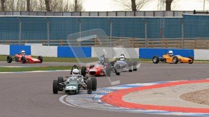 © Octane Photographic Ltd. HSCC Donington Park 17th March 2012. Historic Formula Ford Championship. Andrew MacGregor - Hawke DL2B. Digital ref : 0240lw7d4646