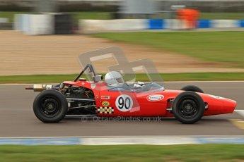 © Octane Photographic Ltd. HSCC Donington Park 17th March 2012. Historic Formula Ford Championship. Julian Pierce - Macon MR8. Digital ref : 0240lw7d4892