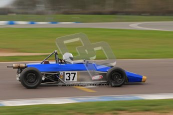 © Octane Photographic Ltd. HSCC Donington Park 17th March 2012. Historic Formula Ford Championship. William Nuthall - Jamun T2. Digital ref : 0240lw7d5011
