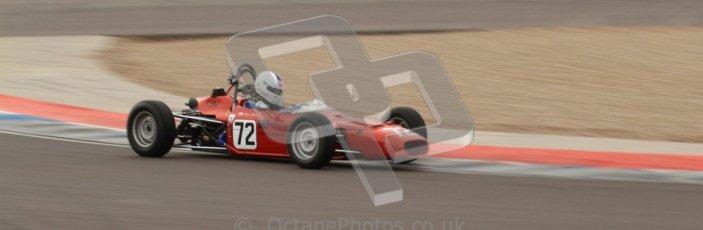 © Octane Photographic Ltd. HSCC Donington Park 17th March 2012. Historic Formula Ford Championship. Alistair Littlewood - Merlyn Mk20A. Digital ref : 0240lw7d5162