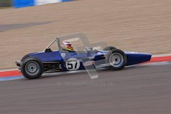 © Octane Photographic Ltd. HSCC Donington Park 17th March 2012. Historic Formula Ford Championship. David Wild - Lola T200. Digital ref : 0240lw7d5327