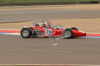 © Octane Photographic Ltd. HSCC Donington Park 17th March 2012. Historic Formula Ford Championship. Diogo Ferrao - Merlyn Mk20.  Digital ref : 0240lw7d5371