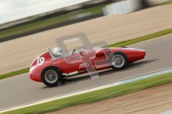 © Octane Photographic Ltd. HSCC Donington Park 17th March 2012. Historic Formula Junior Championship (Front engine). Jan Biekens - Stanguellini FJ. Digital ref : 0241cb1d7149