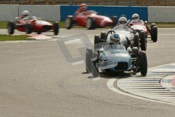© Octane Photographic Ltd. HSCC Donington Park 17th March 2012. Historic Formula Junior Championship (Front engine). Stuart Roach - Alexis MK2. Digital ref : 0241cb1d7189