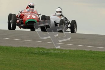 © Octane Photographic Ltd. HSCC Donington Park 17th March 2012. Historic Formula Junior Championship (Front engine). Michael Ashley-Brown - Volpini Monoposto. Digital ref : 0241cb7d3862