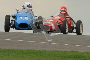 © Octane Photographic Ltd. HSCC Donington Park 17th March 2012. Historic Formula Junior Championship (Front engine). Gordon Wright - Stanguellini. Digital ref : 0241cb7d3866