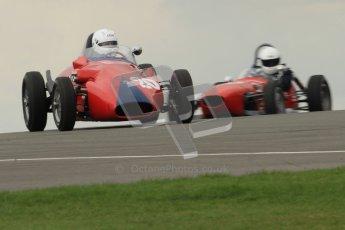 © Octane Photographic Ltd. HSCC Donington Park 17th March 2012. Historic Formula Junior Championship (Front engine). Pat Barford.- Stanguellini. Digital ref : 0241cb7d3870