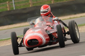 © Octane Photographic Ltd. HSCC Donington Park 17th March 2012. Historic Formula Junior Championship (Front engine). Keith Roach - Condor S2. Digital ref : 0241cb7d3894