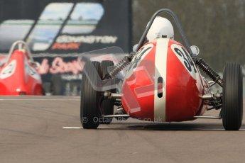 © Octane Photographic Ltd. HSCC Donington Park 17th March 2012. Historic Formula Junior Championship (Front engine). Richard Ellingworth - Gemini Mk2. Digital ref : 0241cb7d3937