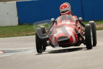 © Octane Photographic Ltd. HSCC Donington Park 17th March 2012. Historic Formula Junior Championship (Front engine). Keith Roach - Condor S2. Digital ref : 0241cb7d3956