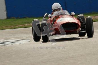 © Octane Photographic Ltd. HSCC Donington Park 17th March 2012. Historic Formula Junior Championship (Front engine). Andrew Tart - Bond FJ. Digital ref : 0241cb7d3974