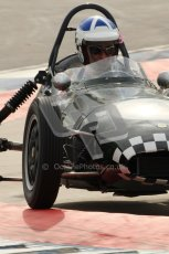 © Octane Photographic Ltd. HSCC Donington Park 17th March 2012. Historic Formula Junior Championship (Front engine). John Chisholm - Gemini Mk2. Digital ref : 0241cb7d3997