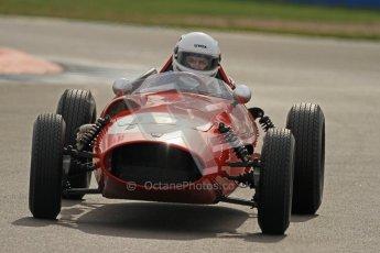 © Octane Photographic Ltd. HSCC Donington Park 17th March 2012. Historic Formula Junior Championship (Front engine). Digital ref : 0241cb7d4007
