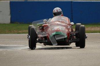 © Octane Photographic Ltd. HSCC Donington Park 17th March 2012. Historic Formula Junior Championship (Front engine). Michael Ashley-Brown - Volpini Monoposto. Digital ref : 0241cb7d4022