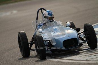 © Octane Photographic Ltd. HSCC Donington Park 17th March 2012. Historic Formula Junior Championship (Front engine). Stuart Roach - Alexis MK2. Digital ref : 0241cb7d4105