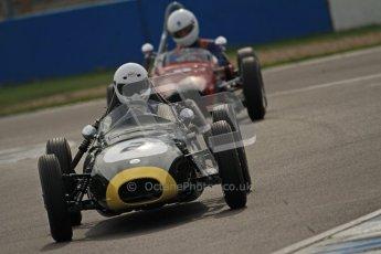 © Octane Photographic Ltd. HSCC Donington Park 17th March 2012. Historic Formula Junior Championship (Front engine). Jack Woodhouse - Elva 100. Digital ref : 0241cb7d4110