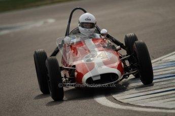 © Octane Photographic Ltd. HSCC Donington Park 17th March 2012. Historic Formula Junior Championship (Front engine). Richard Ellingworth - Gemini Mk2. Digital ref : 0241cb7d4135
