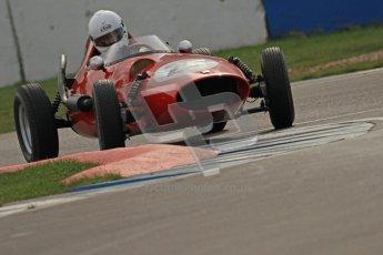 © Octane Photographic Ltd. HSCC Donington Park 17th March 2012. Historic Formula Junior Championship (Front engine). Andrew Tart - Bond FJ. Digital ref : 0241cb7d4136
