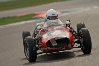 © Octane Photographic Ltd. HSCC Donington Park 17th March 2012. Historic Formula Junior Championship (Front engine). Andrew Tart - Bond FJ. Digital ref : 0241cb7d4143