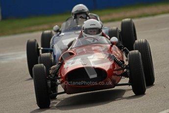 © Octane Photographic Ltd. HSCC Donington Park 17th March 2012. Historic Formula Junior Championship (Front engine). Digital ref : 0241cb7d4166